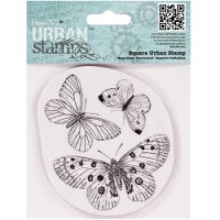 DoCrafts - Papermania Cling Urban Stamp - Butterflies