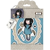 Do Crafts - Simply Gorjuss Little Things - Cling Mounted Rubber Stamp - The Owl