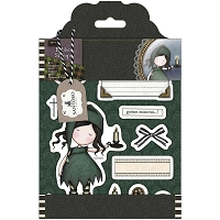 Do Crafts - Simply Gorjuss Little Things - Cling Mounted Rubber Stamp - Night Light