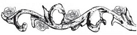 Donna Salazar-Cling Mounted Rubber Stamp-Blooming Flourish