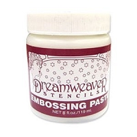 Dreamweaver Regular Stencil Embossing Paste - 8 oz
