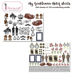 Dress My Craft - My Gentleman Motif Sheets