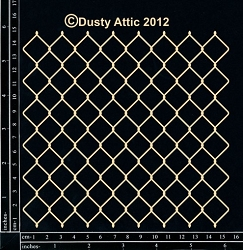 Dusty Attic Chipboard - Cyclone Wire Panel