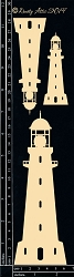 Dusty Attic Chipboard - Lighthouse #2