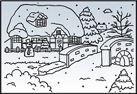 Nellie Snellen Embossing Folder - Snow House