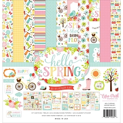 Echo Park - Hello Spring Collection  - Collection Kit