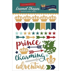 Echo Park - Once Upon A Time Prince Collection - Enamel Shapes