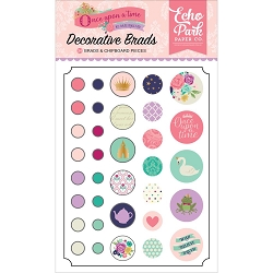 Echo Park - Once Upon A Time Princess Collection - Decorative Brads :)