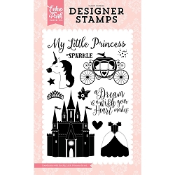 Echo Park - Once Upon A Time Princess Collection - My Little Princess Clear Stamps