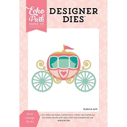 Echo Park - Designer Dies - Once Upon A Time Princess Royal Carriage Die