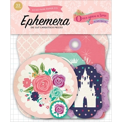 Echo Park - Once Upon A Time Princess Collection - Die Cut Ephemera