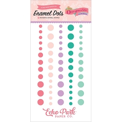 Echo Park - Once Upon A Time Princess Collection - Enamel Dots