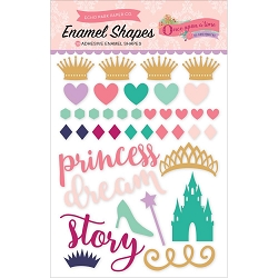 Echo Park - Once Upon A Time Princess Collection - Enamel Shapes