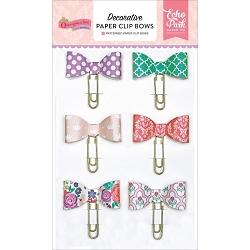 Echo Park - Once Upon A Time Princess Collection - Paper Clip Bows