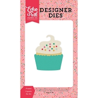 Echo Park - Designer Dies - Party Time Frosted Cupcake