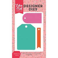 Echo Park - Designer Dies - Party Time Birthday Tags