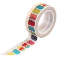 Echo Park - Summer Party Collection - Decorative Tape - Popsicles :)