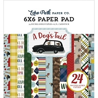 Echo Park - A Dog's Tail Collection - 6x6 Paper Pad :)