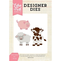 Echo Park - Designer Dies - Farm Animals #1