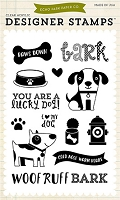 Echo Park - Bark Collection - Lucky Dog Stamp