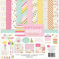 Echo Park - Birthday Wishes Collection - Girl Collection Kit