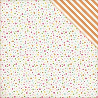 Echo Park - Birthday Wishes Collection - Girl Birthday Dots