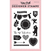 Echo Park - Blowing Kisses Collection - Blowing Kisses Clear Stamps :)