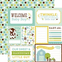 Echo Park - Bundle Of Joy A New Addition Collection - Welcome Baby Boy