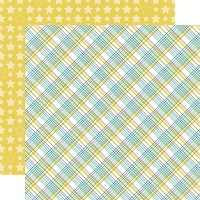 Echo Park - Bundle Of Joy A New Addition Collection - Baby Boy Plaid