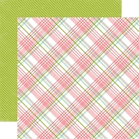 Echo Park - Bundle Of Joy A New Addition Collection - Baby Girl Plaid