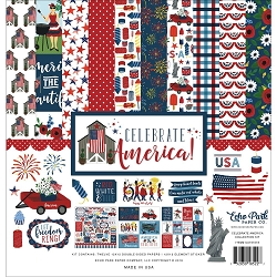 Echo Park - Celebrate America Collection  - Collection Kit