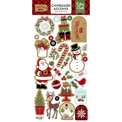 Echo Park - Celebrate Christmas Collection - 6x12 Chipboard Accents
