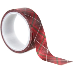 Echo Park - Merry & Bright Collection - Decorative Tape - Merry Plaid