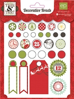Echo Park Paper - This & That Christmas Collection by Lori Whitlock - Brads :)