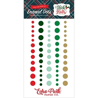 Echo Park - Deck The Halls Collection - Enamel Dots