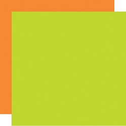 Echo Park - Easter Wishes Collection - Orange/Green - 12