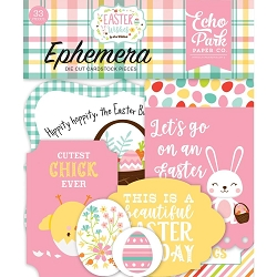 Echo Park - Easter Wishes Collection - Die Cut Ephemera