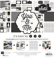 Echo Park - Photo Freedom You And Me Collection - Collection Kit :)