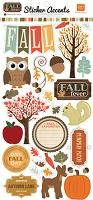 Echo Park Paper - Fall Fever Collection - Sticker Accents