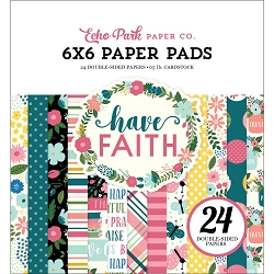 Echo Park - Have Faith Collection - 6x6 Paper Pad