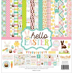 Echo Park - Hello Easter Collection  - Collection Kit