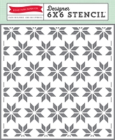 Echo Park - Hello Winter - Holiday Quilt Stencil (6