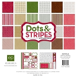 Echo Park-Dots & Stripes Holiday-Collection Kit
