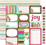 Echo Park - Holly Jolly - Paper-Journaling Cards