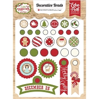 Echo Park - I Love Christmas Collection - Decorative Brads :)