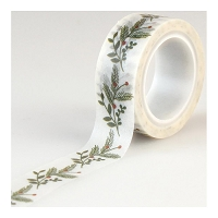 Echo Park - I Love Christmas Collection - Decorative Tape - Sprigs