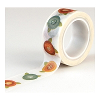 Echo Park - I Love Family Collection - Decorative Tape - Flowers