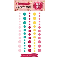Echo Park - Jack and Jill Girl Collection - Enamel Dots