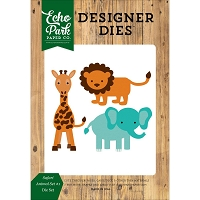 Echo Park - Designer Dies - Jungle Safari Animals Set 1
