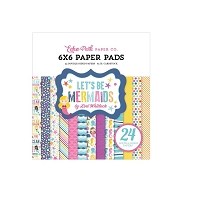 Echo Park - Let's Be Mermaids Collection - 6x6 Paper Pad